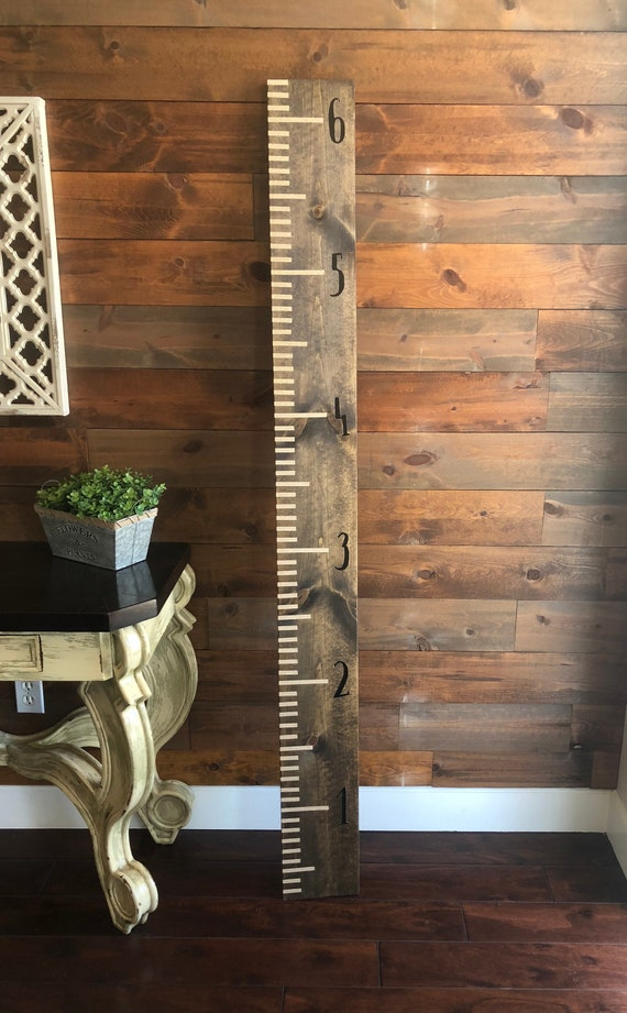 Wall Ruler Growth Chart Etsy