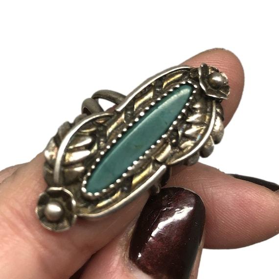 Navajo Navette Ring