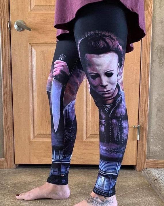 Halloween Print Buttery Soft Leggings  OS CURVY