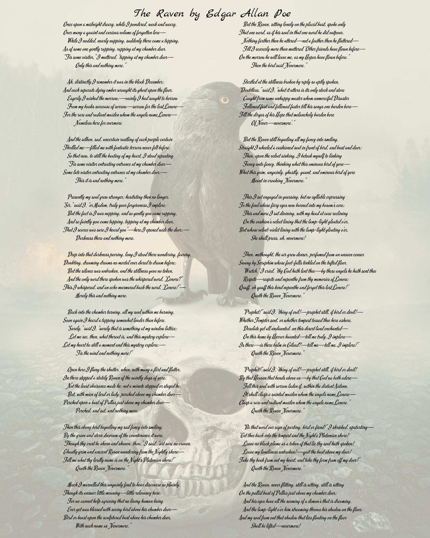 Digital File The Raven by Edgar Allan Poe