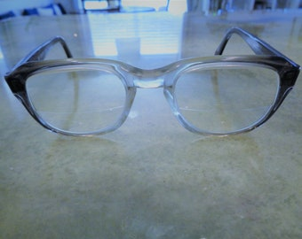 82d75cadb9d2 Vintage Rare Liberty KEW SRP Gray Smoke Hipster Eyeglasses in Great  Condition!