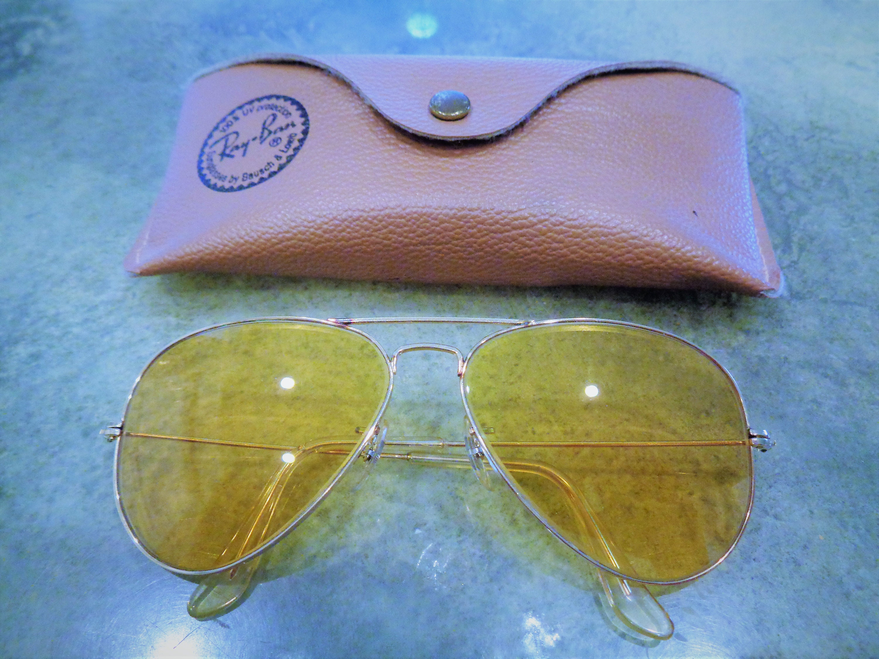 4c7ee1b43a2 Rare Vintage Ray-Ban B L Bausch and Lomb Outdoorsman