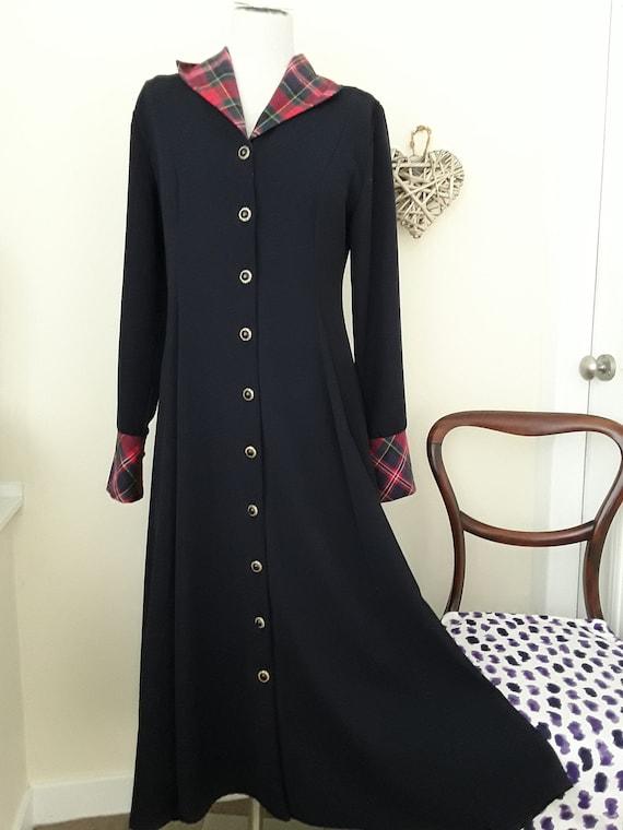 ORIGINAL 1980s Frock Coat/Dress/Riding Coat by Mar
