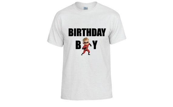 Incredibles Birthday Shirt