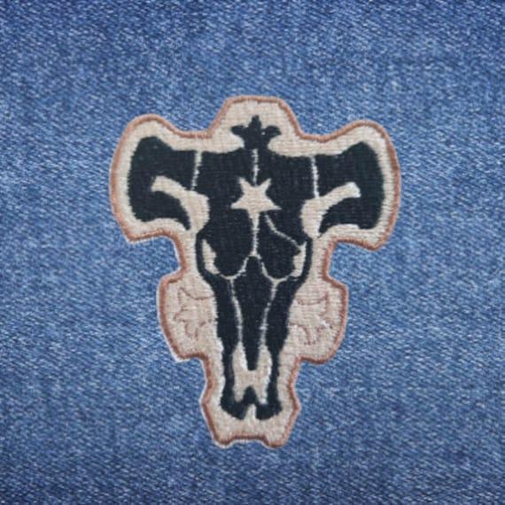 Black Clover Black Bulls Circle Logo Womens Vest