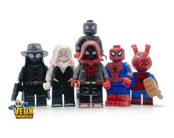 292beb61ec93 Into the spider-verse custom minifigure set of 6