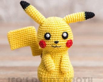 Pikachu and Pokeball Pod pattern - Ami Amour | 270x340