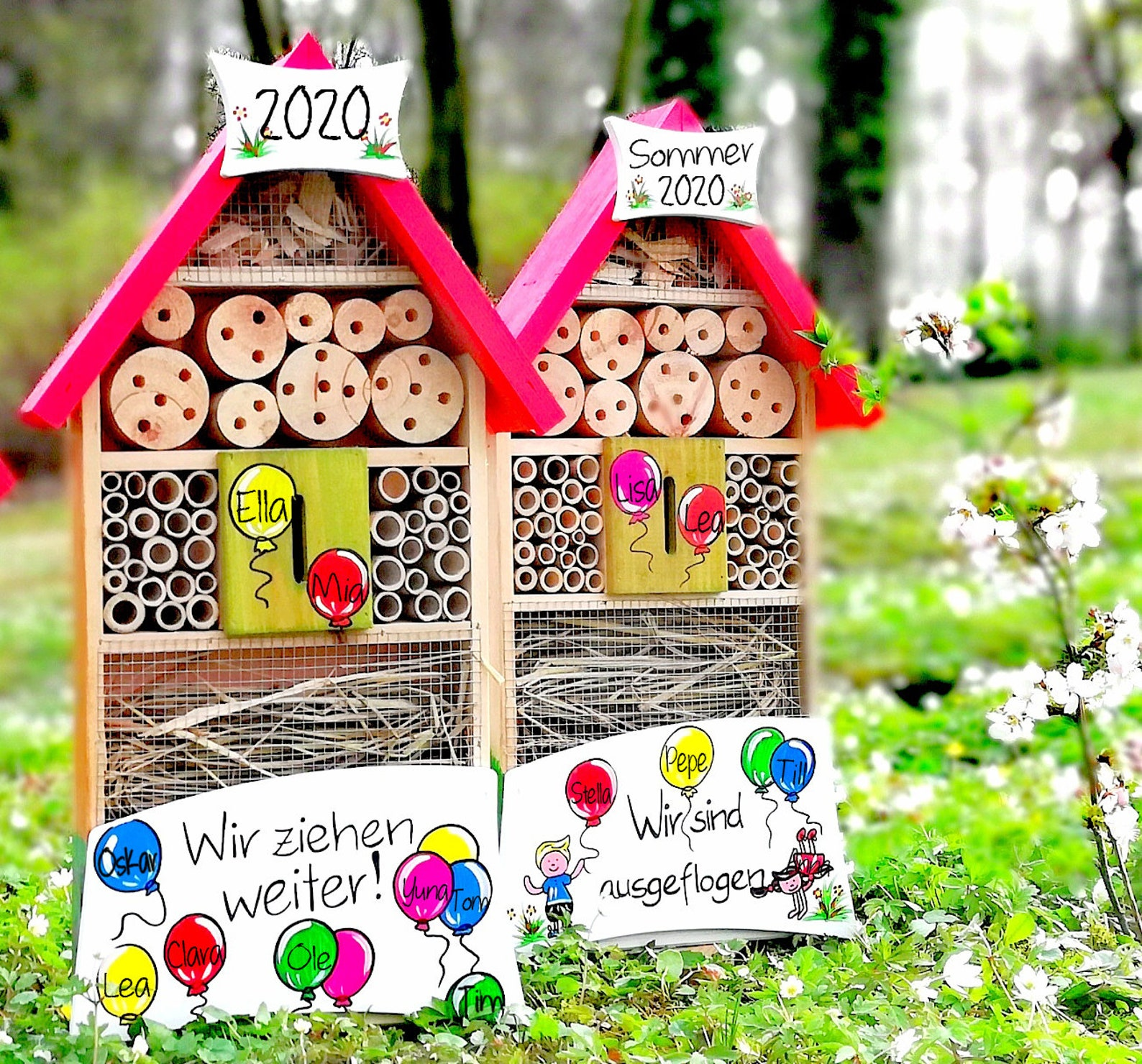 nursery farewell gift insect hotel gift educator insect