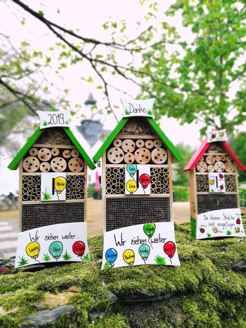 kindergarten farewell gift insect hotel gift educator