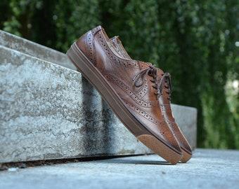 Oxford shoes for men | Etsy