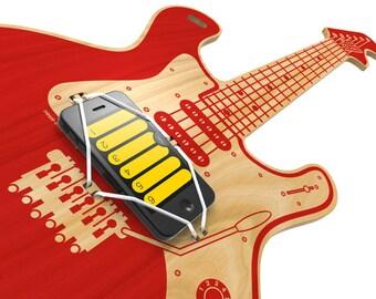 WOODROCKER-air guitar for smartphone