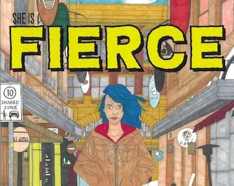 She Is Fierce comic book (1 copy)