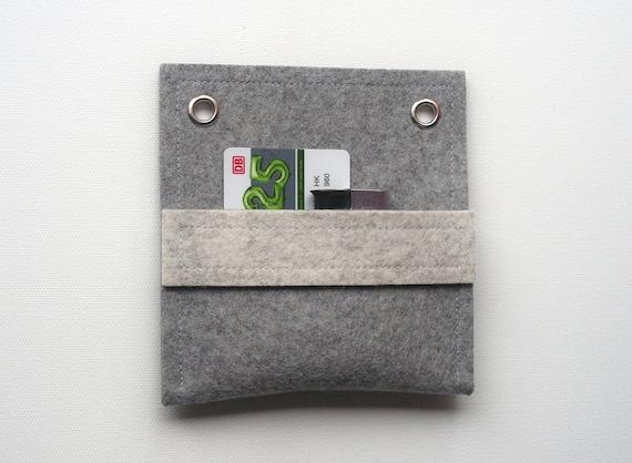 Items Similar To Visitenkartentasche 13x13cm 100 Wollfilz