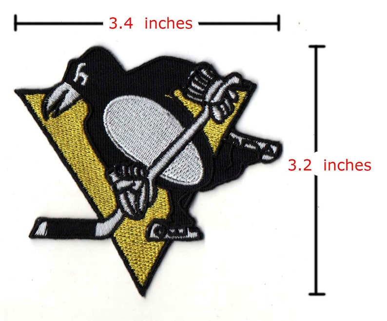 NHL Patch Aufnäher Anniversary Patch Pittsburgh Penguins 50 Years Eishockey