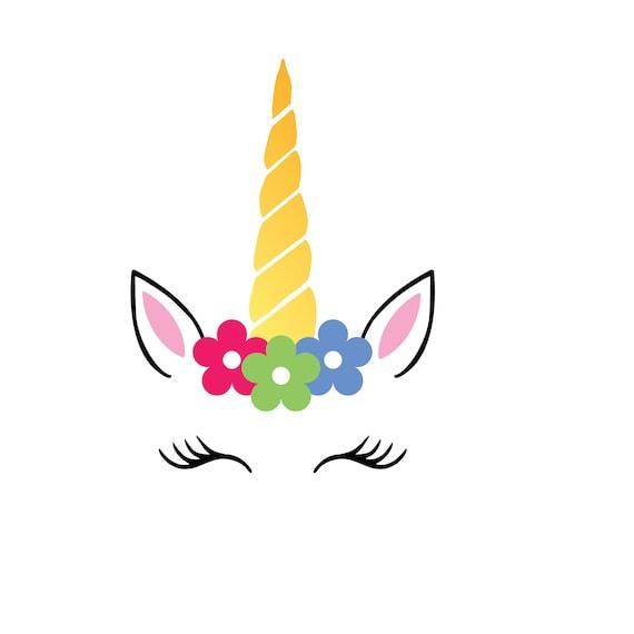 Free font_Unicorn SVG Unicorn head Svg Unicorn flower svg ...
