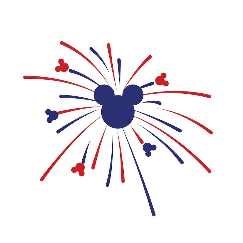 Free font _4th of july Disney fireworks svg, disney svg, svg file for  cricut,silhouette, svg png dxf
