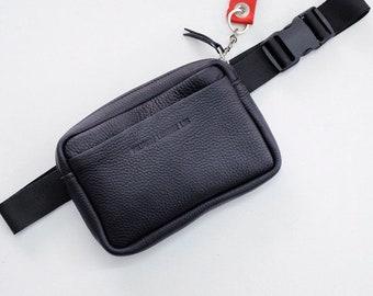 Boombag, Organic Handmade Leather Hip Bag, Fanny Pack, Bumbag, Belt Bag, Waist Bag, Waist Pouch, Money Belt, Festival Belt, Hip Pouch