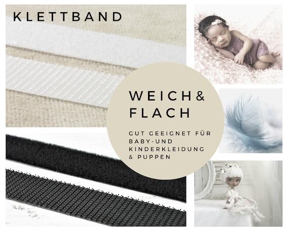 Velcro Blanco 20 Mm Suave Plano Para Ropa De Bebé Y Niños Etsy