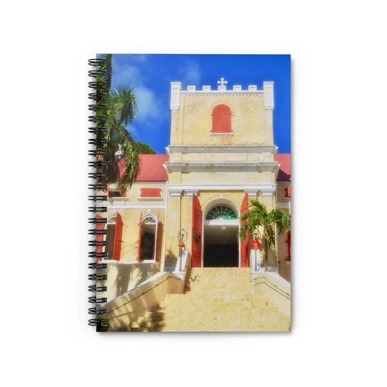 Danish Lutheran Church  Spiral Notebook  US Virgin Islands image 0