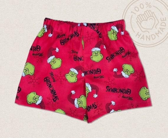 FREE SHIPPING Boy Boxers The Grinch Kid Underwear Birthday