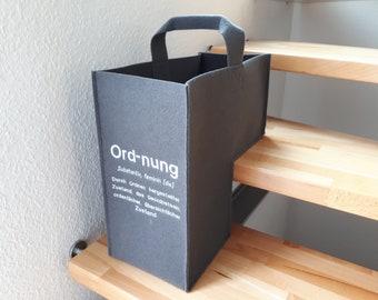 """Luxury stair basket felt """"order"""""""
