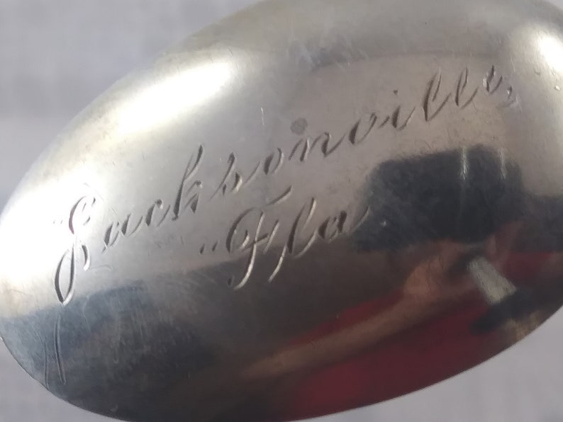 Sterling Silver Alligator Collector Spoon