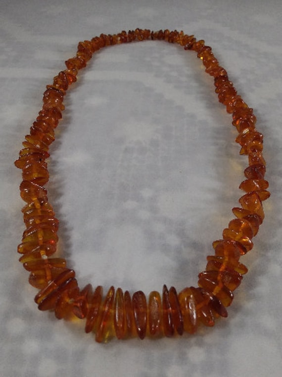 Graduated Baltic Amber Necklace