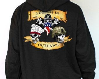 Outlaw sweatshirt | Etsy