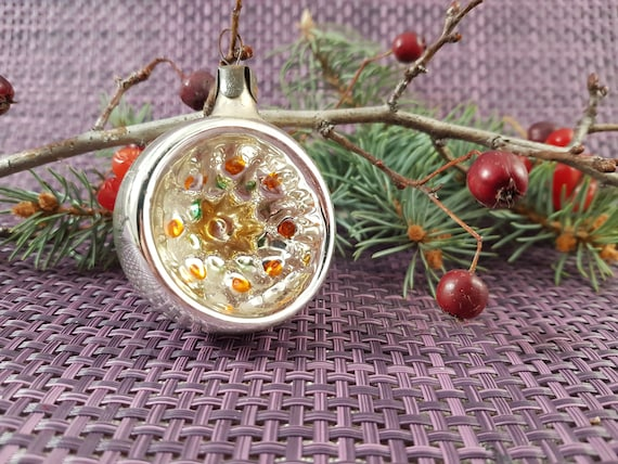 Russia Christmas Ornaments.Christmas Tree Decoration Christmas Tree Ornaments Ussr Icicles Glass Vintage Russian Christmas Ornament Flashlights