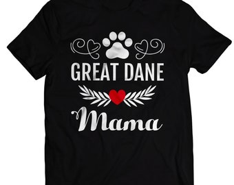4650add6 Great Dane Mama T Shirt Gifts Ideas for Mom, Great Dane Lover Gifts Tees, Funny  Great Dane Dog Pet Owner T-Shirt & Gifts for Mens and Women