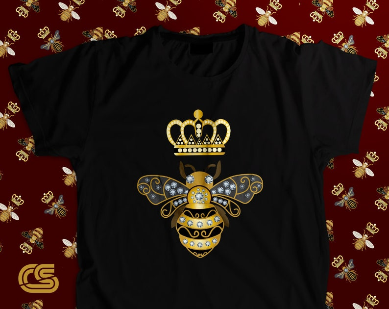 4df69f7c Queen Bee Shirt Vintage Gucci Shirt Gucci inspired Honey | Etsy