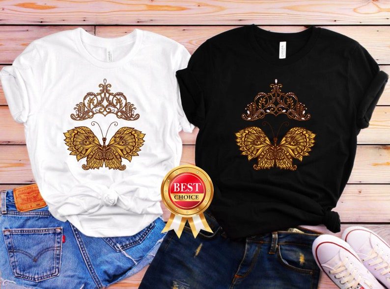 2175efc9 Butterfly Shirts for Women Gucci Butterfly T Shirt Queen | Etsy