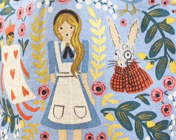 Alice in Wonderland Project Bag