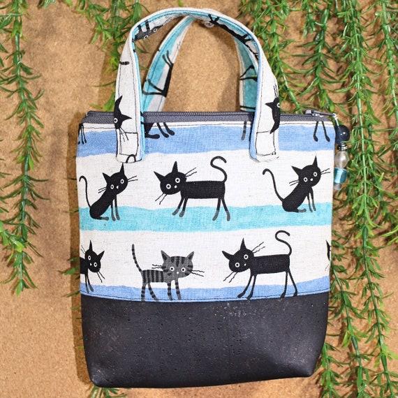 Blue Kitty Bag