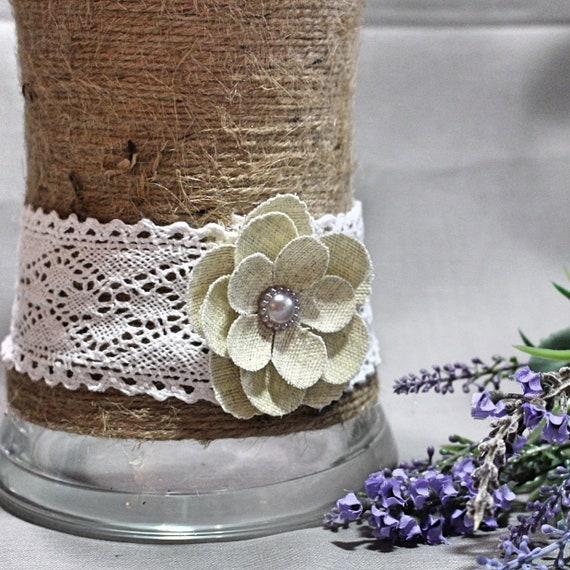 Twine Flower Vase