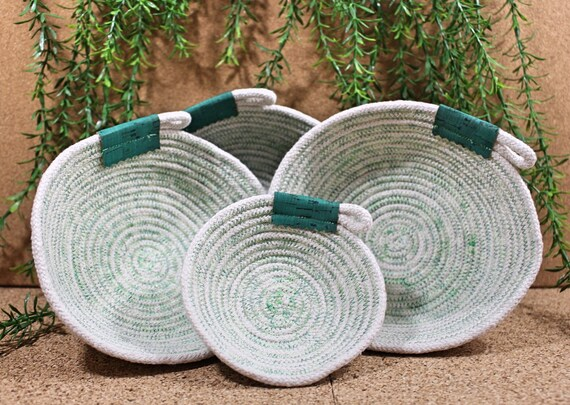 Rope Bowl | Green | Four