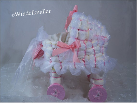 Windel stubenwagen xl babyparty orig pampers etsy