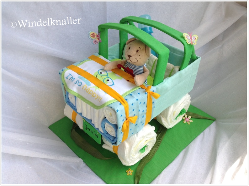 Windel jeep xxl babyparty windeltorten pampers etsy