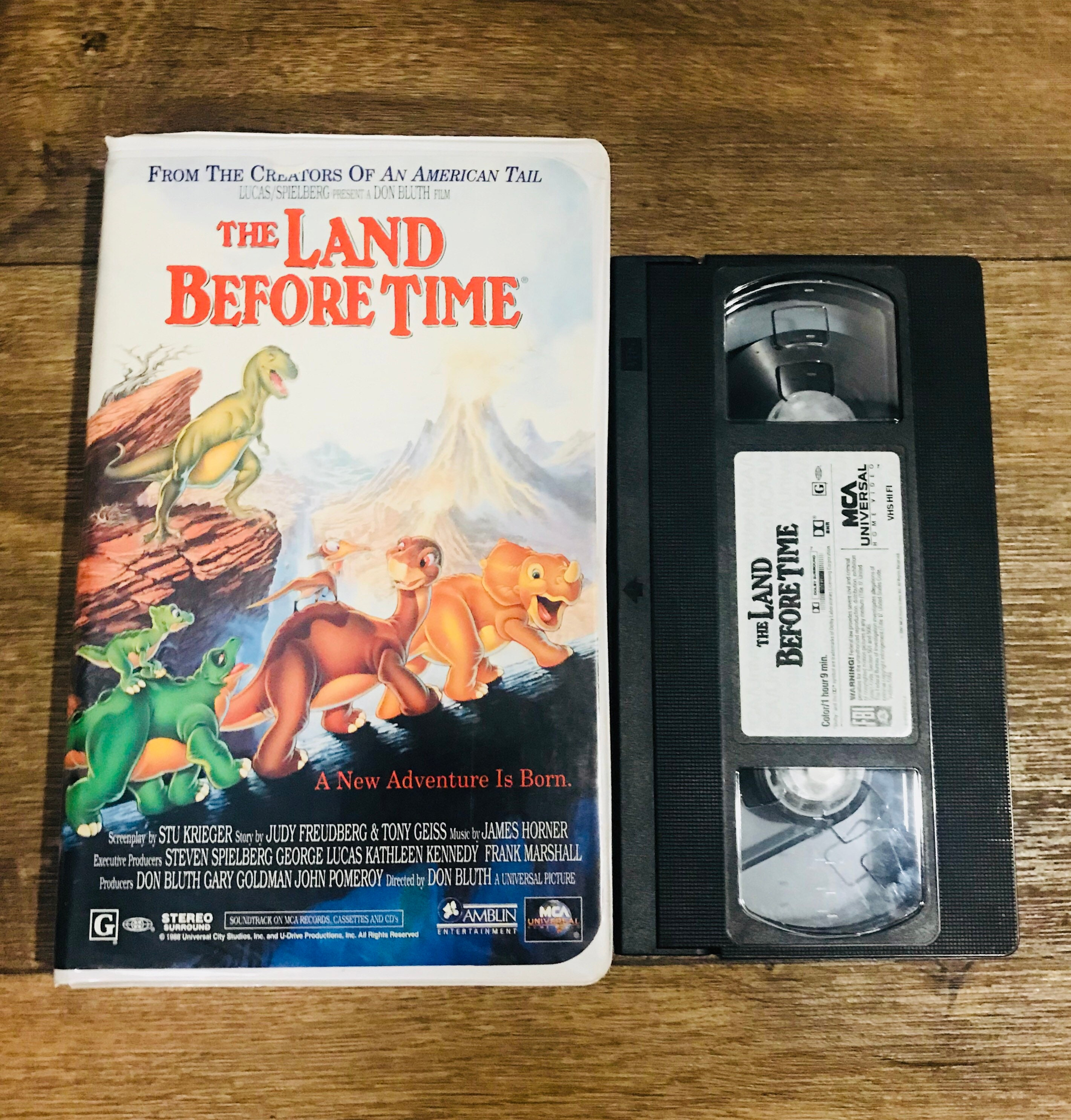 The Land Before Time VHS | Etsy