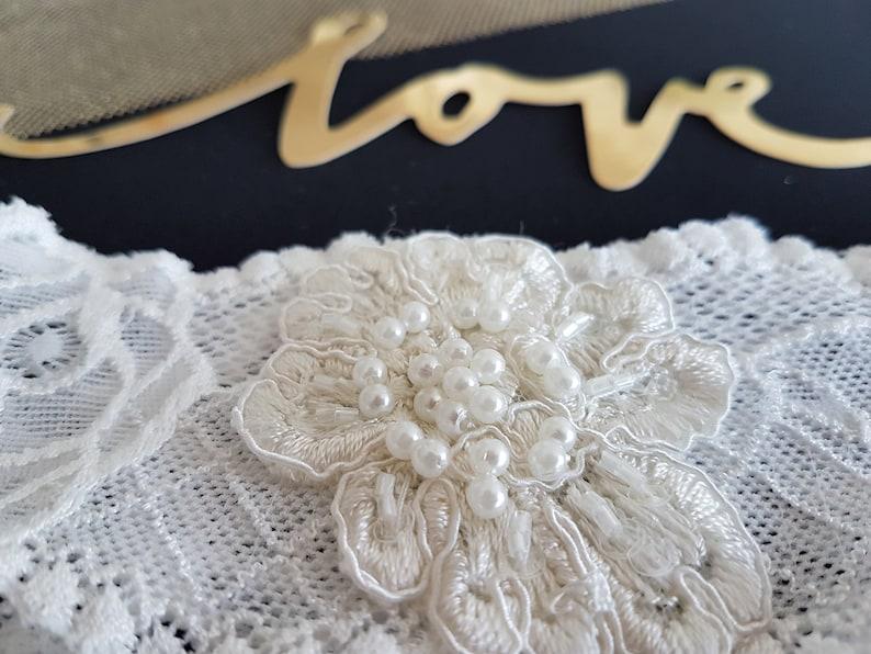 wedding Podwiazka Lace wedding garter Free Delivery creamy Podwiazka