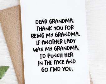 Funny grandma quotes | Etsy