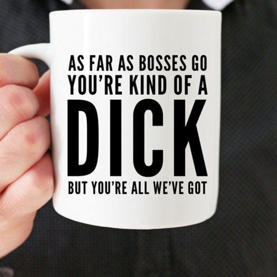 Boss Coffee Mug Bosses Day Gift Birthday Gag For Male