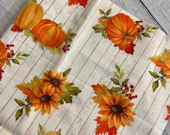 Pumpkins and Sunflowers booksleeve
