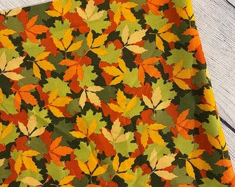 Colorful leaves booksleeve