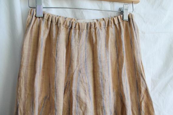 Vintage Silk Skirt Midi Skirt Maxi Skirt Vintage Skirt High-Waisted Skirt Tall Fashion Small Medium
