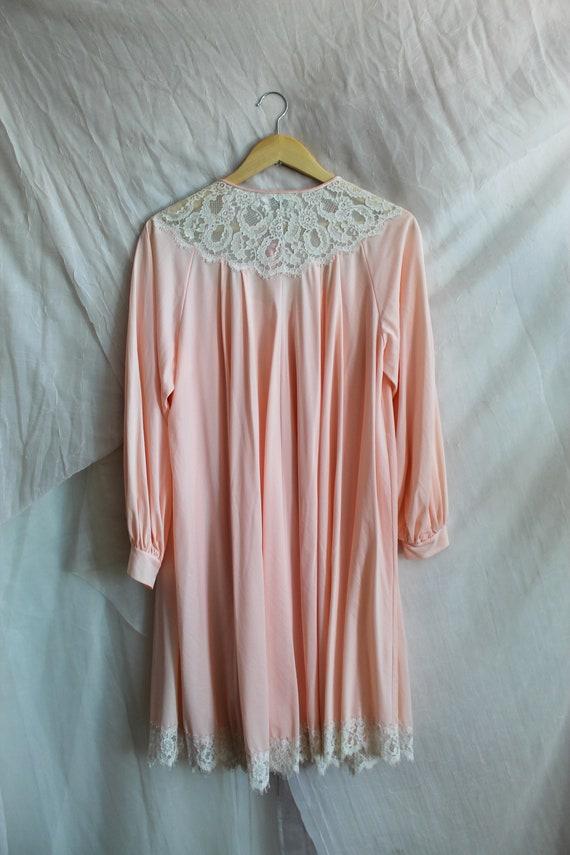 Vintage Robe/ 70s Fashion/ Vintage Lingerie/ Past… - image 6