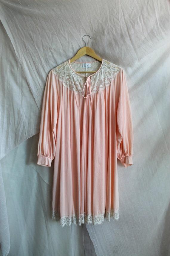 Vintage Robe/ 70s Fashion/ Vintage Lingerie/ Past… - image 3
