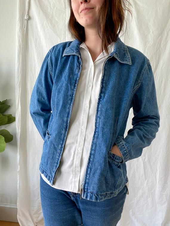 Vintage Denim Jacket/ 80s Fashion/ 90s Fashion/ Je