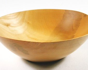 Wooden bowl from Bergahorn (00139)