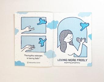 Loving More Freely: exploring polyamory // zine